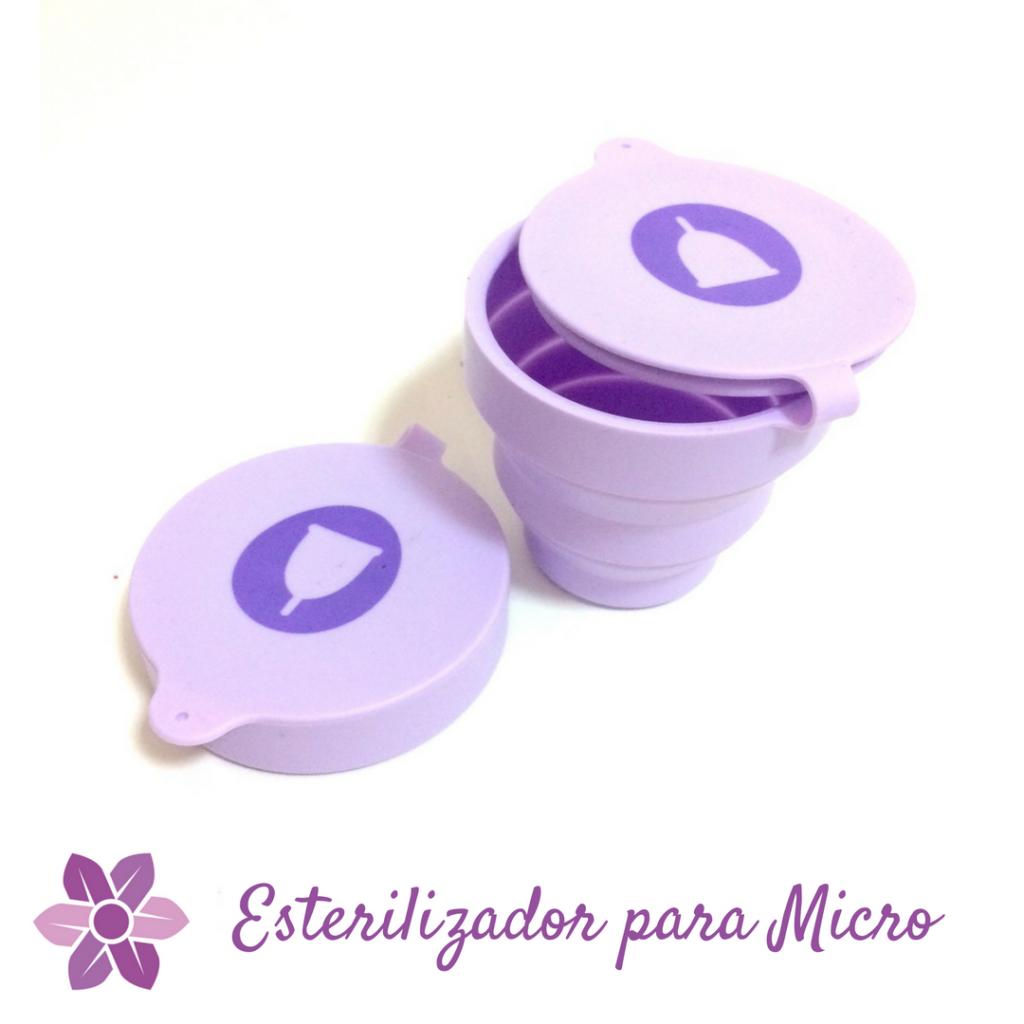 Como hervir la copa menstrual en el microondas