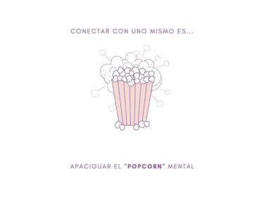 Respiración y meditación para calmar el popcorn mental